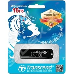 Transcend JetFlash 350 16Gb Winter design (зимний дизайн)