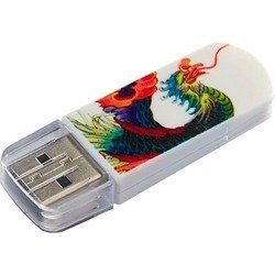Verbatim 8Gb Store n Go Mini TATTOO EDITION PHOENIX USB2.0 (белый)